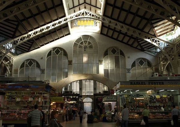 mercado central interior valencia