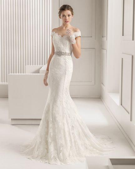 Vestidos de novias de rosa clara 2019