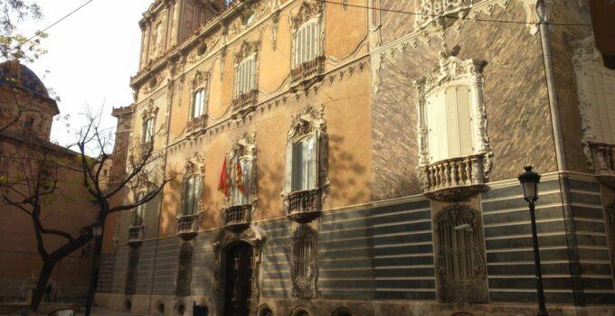 fachada palacio marques de dos aguas