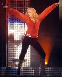Madonna en concierto en Valencia valencia