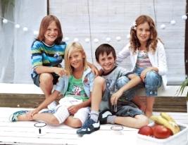moda infantil de los 90