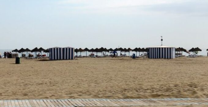 Playa de Las Arenas y Playa de la Malvarrosa de Valencia