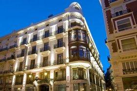 Fachada del hotel Vincci Palace