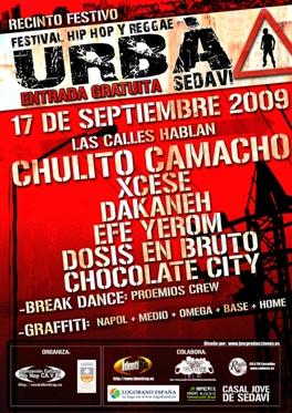 Festival Urbà Sedaví 2009 valencia