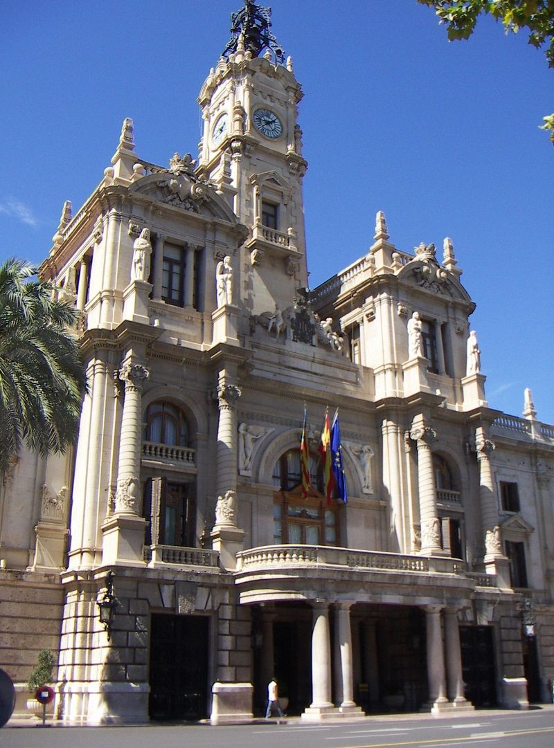 edificio ayuntamiento valencia