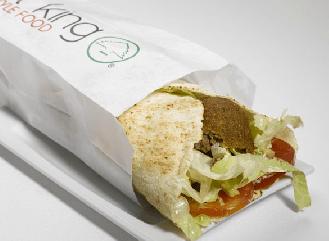 Comida libanesa en el restaurante Beirut King valencia