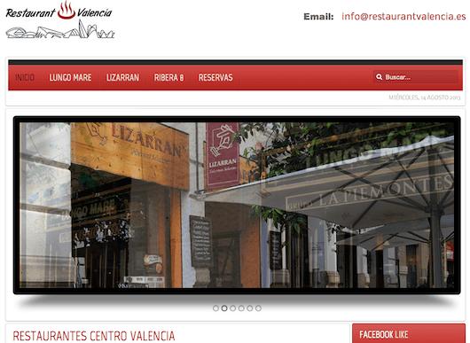 Guía de restaurantes en Valencia valencia