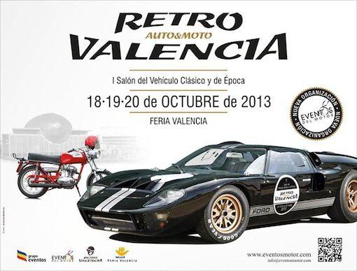 Salón Retro Motor de coches y motocicletas clásicas y de época en Feria Valencia valencia
