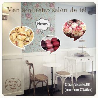 majoses pasteleria y salon de te en la calle san vicente