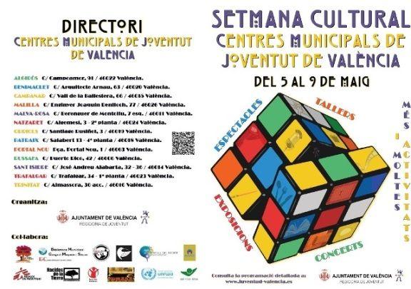 semana cultural centros de juventud