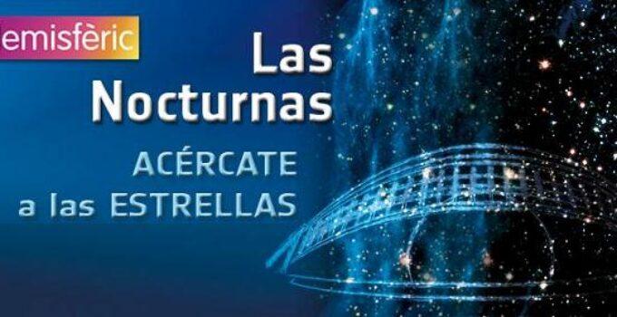 Las Nocturnas de verano en el Hemisfèric de la Ciudad de las Ciencias de Valencia