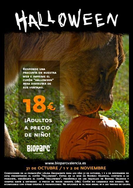 halloween en Bioparc Valencia