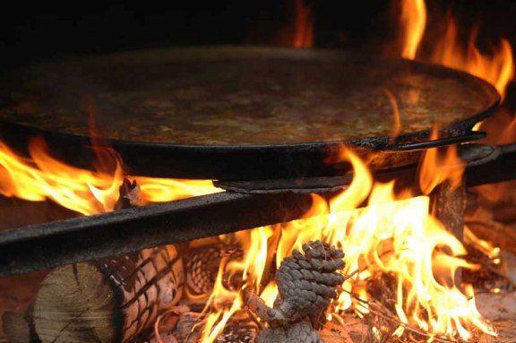 paellas velarte fuego