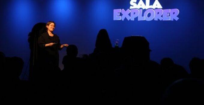 Sala Explorer en la Escuela de Ciencia de Valencia