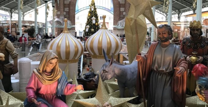 Actividades Navideñas en el Mercado de Colón valencia