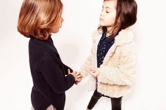look zara niña winter 2014