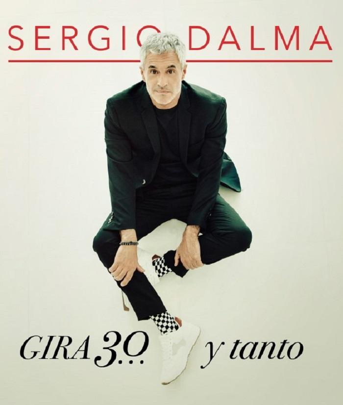 SERGIO DALMA cartel Oficial Gira