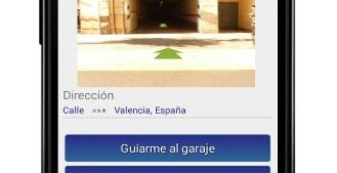Apparcando, una aplicación para alquilar plazas de garaje por horas en Valencia