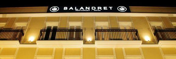 hotel balandret fachada