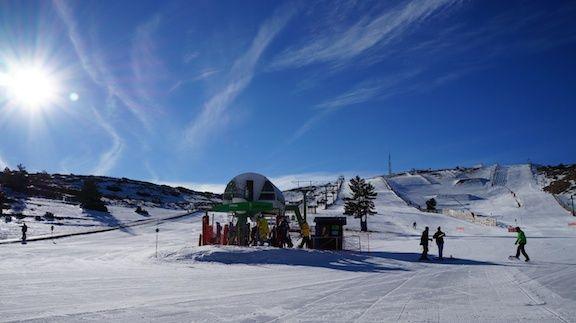 Pistacion Estaciones Esquí Javalambre
