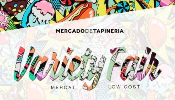 'Variety fair' mercadillo low cost en el Mercado de Tapineria valencia
