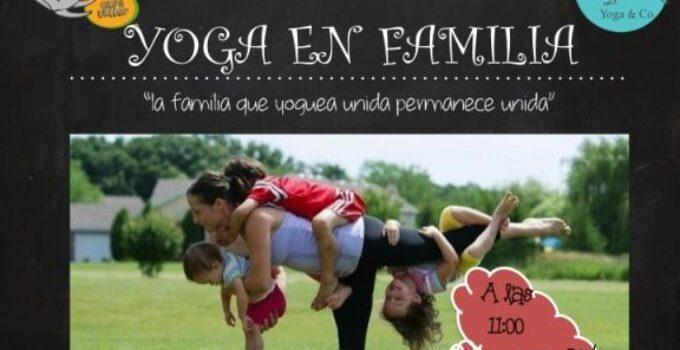 Practica Yoga en familia