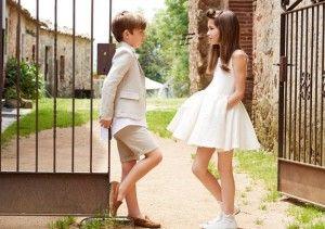9 ideas para vestir a los niños para ir a una ceremonia