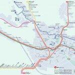 Horarios y planos de Metro Valencia con paradas de las líneas