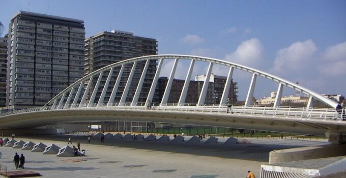 puente de la exposicion valencia