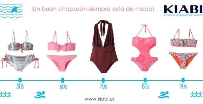 Mójate con los bañadores y bikinis de Kiabi
