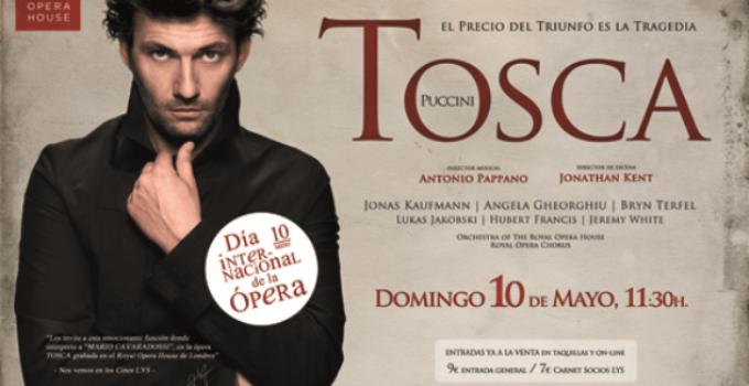 Veremos Tosca en el Día Internacional de la Ópera