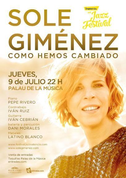 Cartel Sole Gimenez Fest Jazz Valencia baja copia