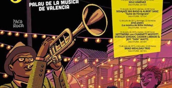 Programa del XIX Festival de Jazz en el Palau de la Música