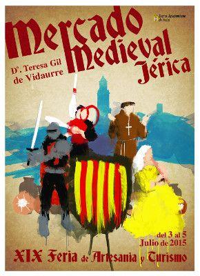 mercado medieval jerica