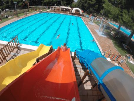 Piscinas municipales al aire libre en Valencia