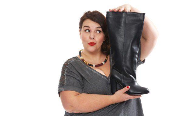 Stephanie Zwicky para Kiabi, botas 40 eur