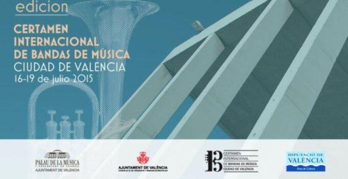 """Certamen Internacional de Bandas de Música """"Ciudad de Valencia"""" 2015"""
