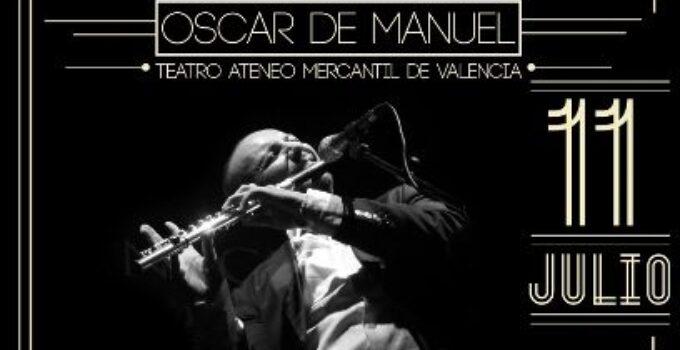 Oscar de Manuel vuelve a Valencia presentando 'La Flauta Flamenca'