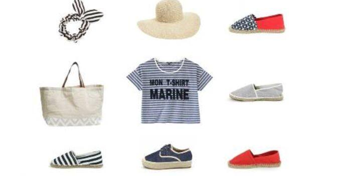 Look marinero para las vacaciones