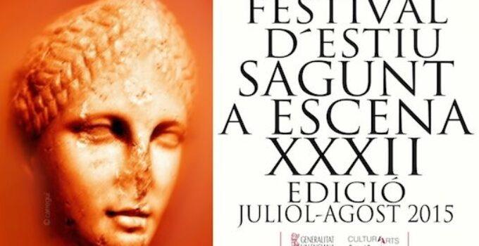 Programa Sagunt a Escena 2015 en el Teatro Romano de Sagunto