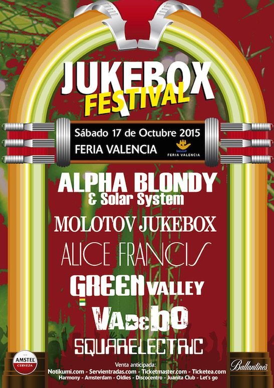 CARTEL JUKEBOX FESTIVALv