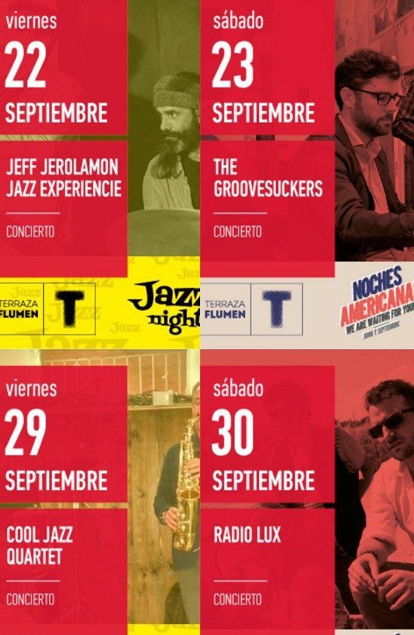 Noches de música americana en el Teatro Flumen valencia
