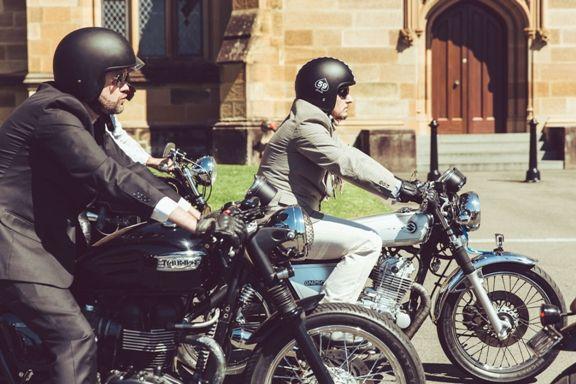 Gentleman-en-moto