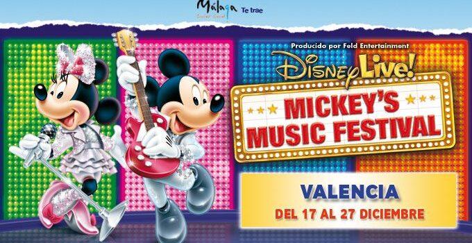 Disney llega a Valencia con su espectáculo Disney Live
