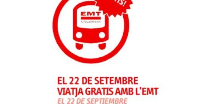emt metro gratis dia sin coches valencia