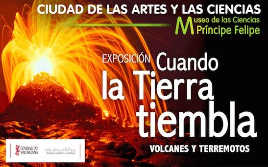 exposicion volcanes terremotos