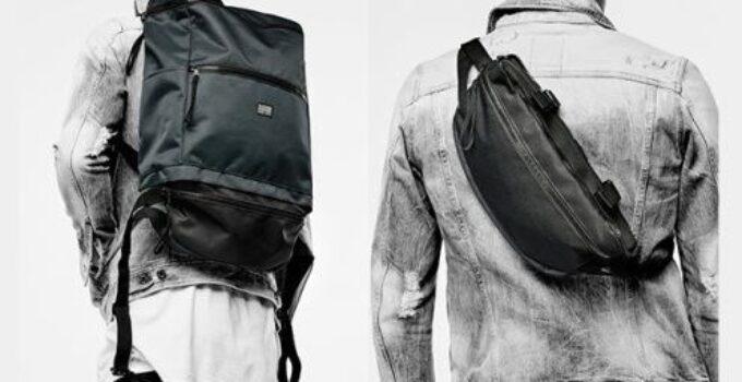Una original mochila G-Star RAW