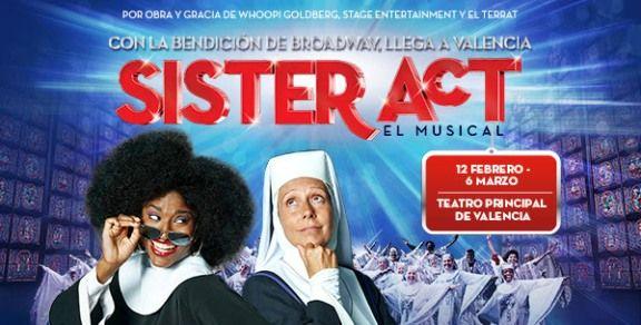 sister act el musical valencia