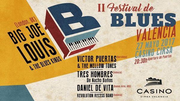 Casino Cirsa Valencia acoge el Festival de Blues de Valencia valencia