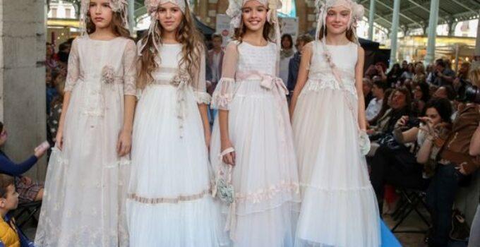 Vestidos de Comunión 2016 de Hortensia Maeso para 'Les Enfants de l'Eden'